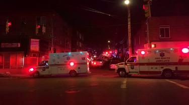 5 Orang Tewas dalam Penembakan Massal di Pennsylvania