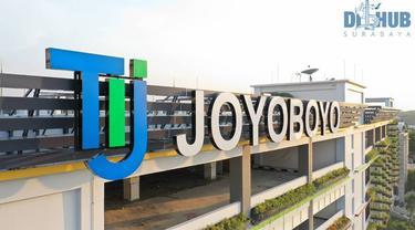 Potret Terminal Intermoda Joyoboyo Surabaya (sumber: instagram/dishubsurabaya)