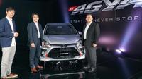 New Toyota Agya resmi diluncurkan. Harga mulai dari Rp 143 jutaan. (TAM)
