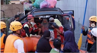Cerita Penyelamatan Korban Banjir Kalsel, dari Lansia sampai Ibu Baru Melahirkan