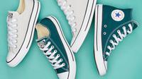 Tips membersihkan sepatu kanvas.