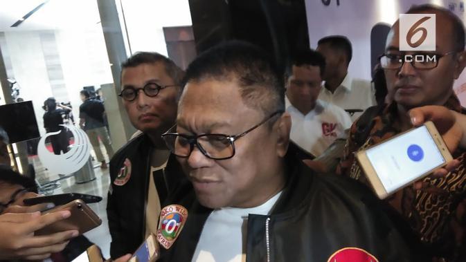 Ketua Umum Partai Hanura Oesman Sapta Odang atau OSO. (Liputan6.com/Ady Anugrahadi)