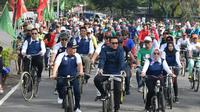 Menpora Imam Nahrawi turut meramaikan Sepeda Nusantara di Kebumen (dok: Kemenpora)