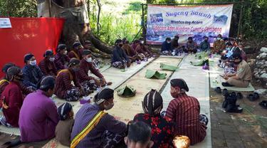 Ritual adat Warga Ngalang Gedangsari