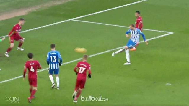 Brighton menjaga tren positif dengan melibas Swansea City 4-1, Sabtu (24/2). Glenn Murray mencetak gol pembuka dari titik putih (1...