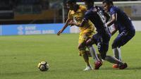 Sriwijaya FC menang 4-0 atas PSIS Semarang pada lanjutan Liga 1 2018 di Stadion Gelora Sriwijaya Jakabaring, Selasa (22/5/2018). (Bola.com/Riskha Prasetya)