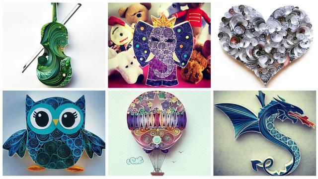 100+ Gambar Paper Quilling Bentuk Bunga Kekinian