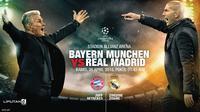 Bayern Munchen vs Real Madrid (Liputan6.com/Abdillah)