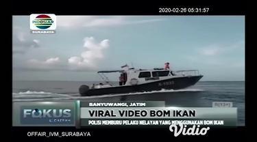 Sebuah video viral di media sosial tentang sekelompok pemuda yang berkemah di Pulau Tabuhan, Kecamatan Wongsorejo, Banyuwangi. Video itu memperlihatkan ledakan bom ikan di laut sekitar pulau disertai keterangan kagetnya mereka mendengar suara dentuma...
