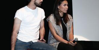 Aktor yang sukses dengan berbagai peran, Reza Rahadian kembali membintangi film terbarunya berjudul Critical Eleven. Dalam film ini, ia bermain bareng Adina Wirasti. Ia bangga dan jatuh cinta bisa bareng Adinia. (Galih W. Satria/Bintang.com)