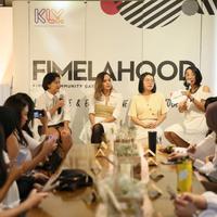 Pembicara lainnya hadir Amanda (Cretive Director Lekat) dan Lea dari Zoe Label. Ketiga pembicara tersebut berbagi pengalamannya mengenai brand lokal yang mewarnai industri fashion di Indonesia. (Adrian Putra/Fimela.com)
