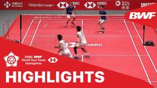 Berita video match highlights BWF World Tour Finals 2019 antara Takeshi Kamura / Keigo Sonoda melawan Minions (Marcus Gideon / Kevin Sanjaya).