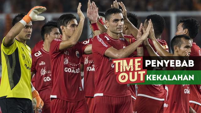 Berita video Time Out kali ini tentang 3 penyebab kekalahan Persija Jakarta dari PSMS Medan pada pekan ketiga Gojek Liga 1 2018 bersama Bukalapak.