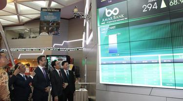 Ilustrasi PT Bank Amar Indonesia Tbk (AMAR).