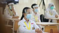 Simulasi sekolah tatap muka di SMPN 1 Surabaya, Jawa Timur (Foto: Dok Istimewa)