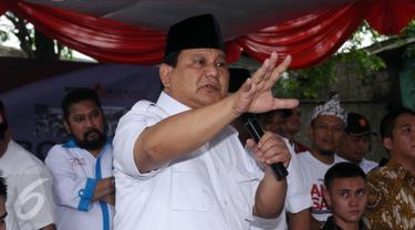 20170131-Ketua Umum Partai Gerindra, Prabowo Subiant.