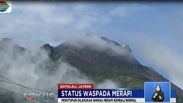 Hal ini dilakukan untuk menghalau kedatangan para wisatawan yang masih tetap ingin mendaki ke puncak gunung.