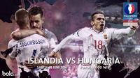 Eropa 2016 Islandia Vs Hungaria (Bola.com/Adreanus Titus)