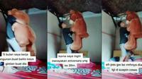 Rela jadi kuli buat belikan kado kekasihnya, justru diselingkuhi. (Sumber: TikTok/@rizkywarobay27)