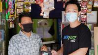 Masker Gratis Untuk Agen Demi Cegah Penyebaran Covid-19. foto: istimewa
