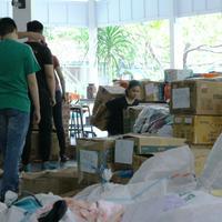 Antusiasnya Anak-Anak Yayasan Hati Suci Siapkan Pasar Murah