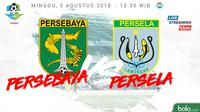 Liga 1 2018 Persebaya Surabaya Vs Persela Lamongan (Bola.com/Adreanus Titus)
