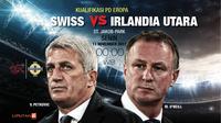 Prediksi Swiss Vs Irlandia Utara (Liputan6.com/Trie yas)