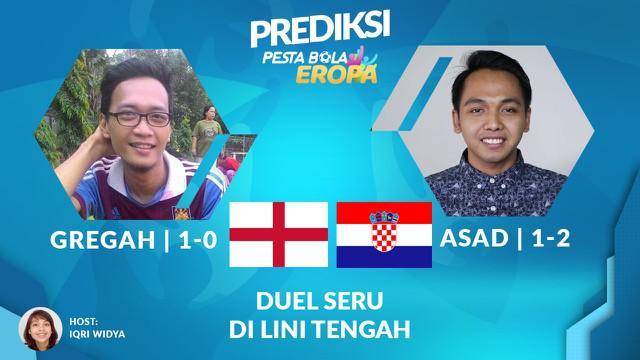 Berita video prediksi Inggris Vs Kroasia di Grup B Euro 2021, keduanya punya celah di lini belakang
