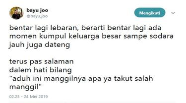 Momen Lebaran Netizen