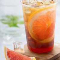 Resep Menu Berbuka Puasa, Es Lemon Tea. foto: Shenggeng Lin/unsplash.com