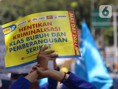 Aksi May Day di Jakarta