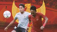 Timnas Indonesia - Braif Fatari, Beckham Putra (Bola.com/Adreanus Titus)