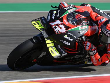 Foto: Menanti Debut Vinales Bersama Aprilia di MotoGP Aragon 2021