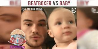 Lucunya Beatbox Bayi dan Orang Dewasa Ini