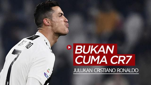 Berita video beragam julukan untuk bintang Juventus, Cristiano Ronaldo, selain CR7.