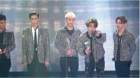 Tak tanggung-tanggung, BIGBANG raih tiga buah piala penghargaan sekaligus dalam The 13th Korean Music Awards