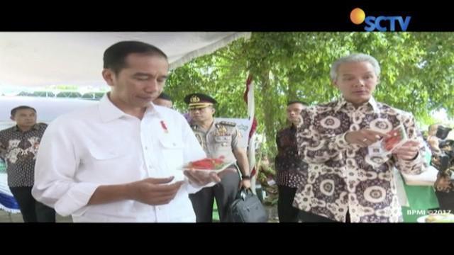 Presiden Joko Widodo menyatakan urusan pangan akan menjadi masalah besar di masa depan.