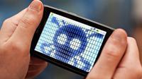 Foto: Ilustrasi malware di smartphone (ibitimes.co.uk)