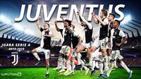 Juventus berhasil menjadi juara untuk kesembilan kali beruntun (Liputan6.com/Triyasni)