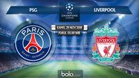 Liga Champions 2018 PSG vs Liverpool (Bola.com/Adreanus Titus)