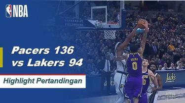 Myles Turner membukukan 22 poin dan menambahkan empat blok saat Indiana menang telak atas Los Angeles, 136-94.