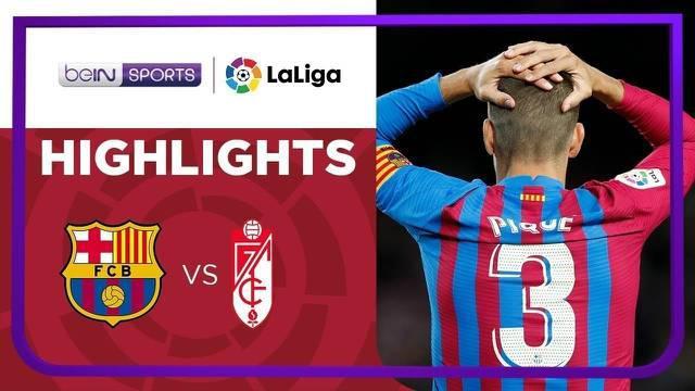 Berita video highlights laga pekan kelima Liga Spanyol (LaLiga) 2021/2022 antara Barcelona melawan Granada yang berakhir dengan skor 1-1, Selasa (21/9/2021) dinihari WIB.