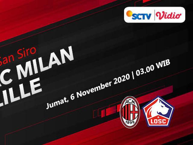 Sudah Dimulai Live Streaming Liga Europa Ac Milan Vs Lille Di Vidio Bola Liputan6 Com