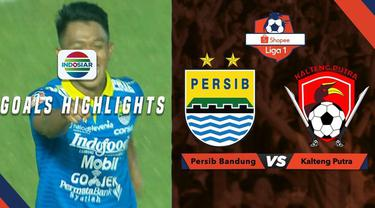 Berita video dua gol Persib Bandung ke gawang Kalteng Putra dalam lanjutan Shopee Liga 1 2019, Selasa (16/7/2019).