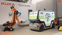 Rinspeed MicroSnap mobil konsep microSNAP yang akan di tampilkan di ajang Consumer Technology Association (CES) 2019, di Las Vegas, Amerika Serikat,  8-19 Januari 2019 mendatang. (Rinspeed)