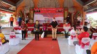 Bantuan Sosial Tunai (BST) disalurkan di Badung, Bali.