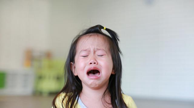 Ilustrasi anak menangis (iStockphoto)