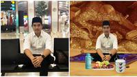 Hasil Editan Foto Kaesang Karya Netizen Ini Kocak Banget (sumber:Twitter/@ripot85 dan @kaesangp)