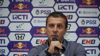 Pelatih Persib Miljan Radovic siap balas hasil imbang di Malang. (Huyogo Simbolon)
