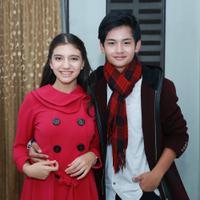 Randy Martin dan Cassandra Lee. (Deki Prayoga/Bintang.com)